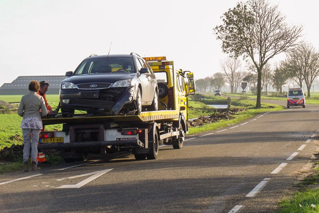 Aanrijding scooter vs auto Zijdeweg-Geerweg Bleskensgraaf (6)