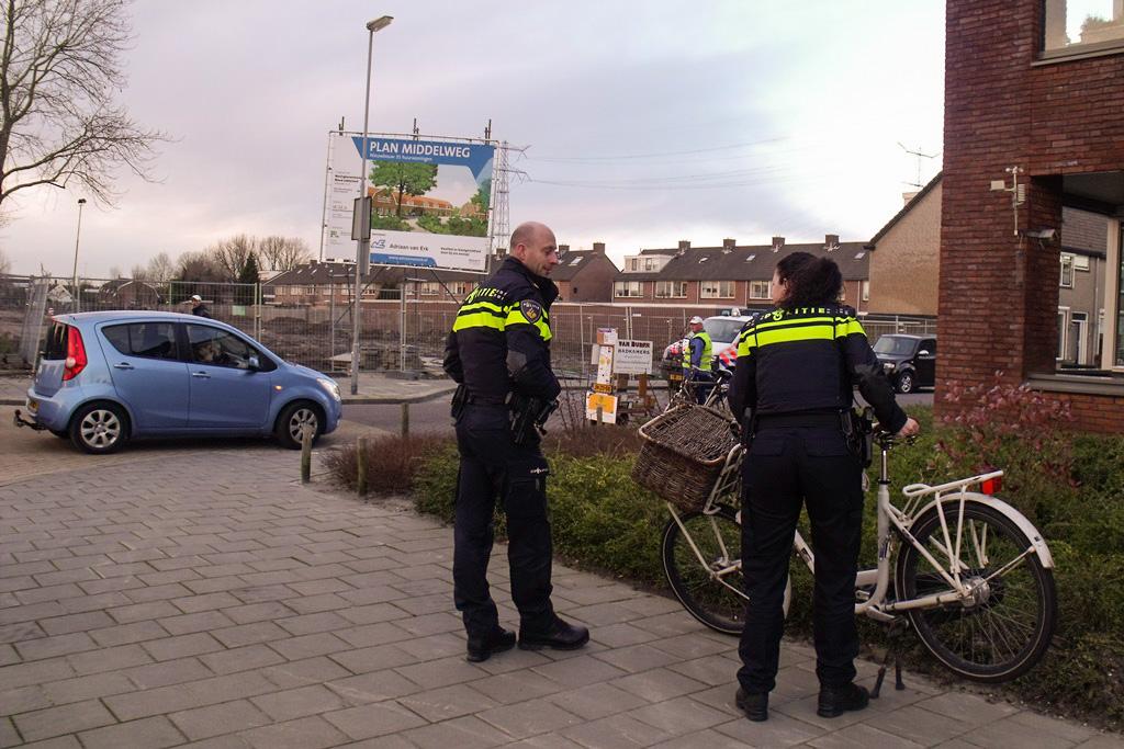 Aanrijding Middelweg/Planetenlaan Nieuw-Lekkerland 5