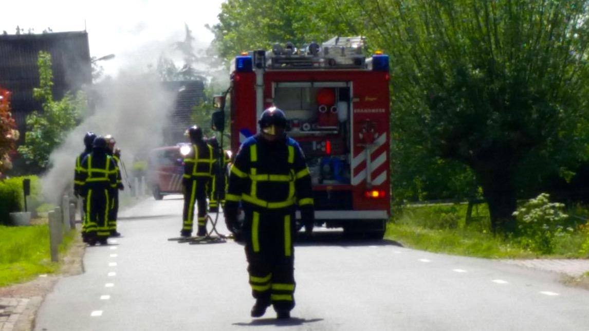 Rookontwikkeling na defect aan stroomkabel in Leerbroek - ZHZActueel