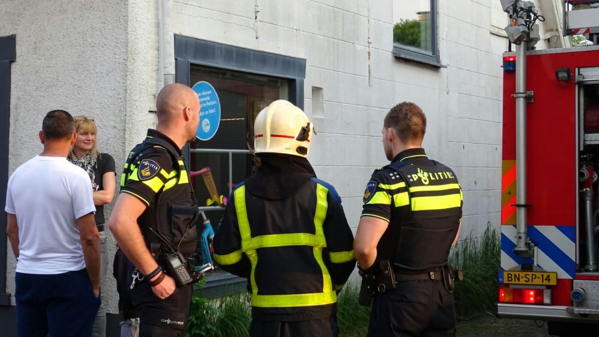 Brand in leegstaand pand langs Westeind in Papendrecht - ZHZActueel