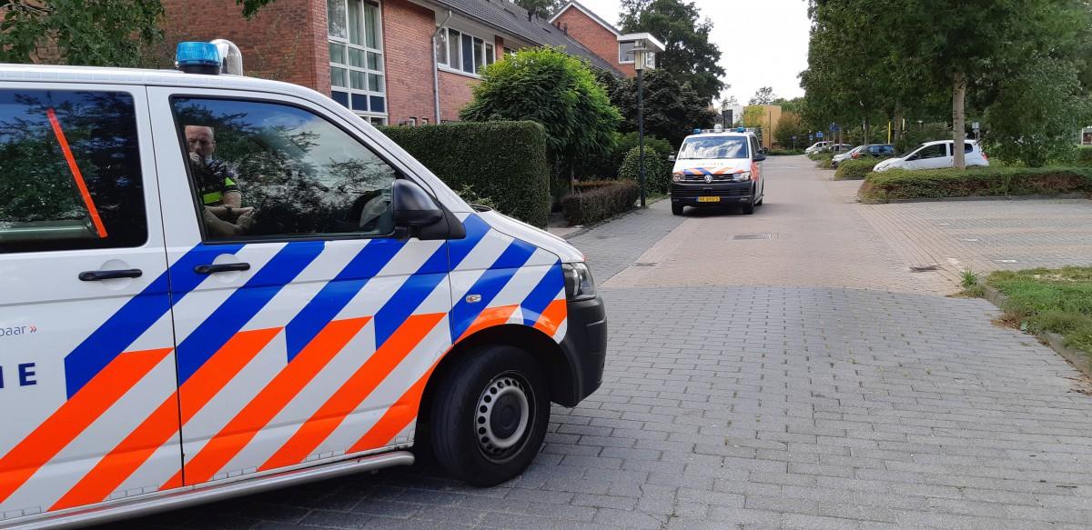 Betrapt door de politie